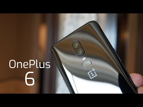 OnePlus 6 India Hands-on, First Impressions - Mirror Black!