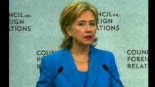 A Conversation With U.S. Secretary Of State Hillary Rodham C