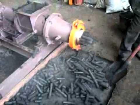 Пресс для древесного угля своими руками