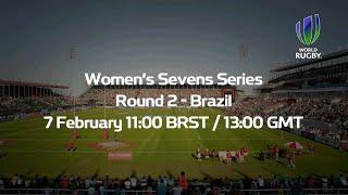 Women's Sevens Series 2014/15 Brazil - Day 1