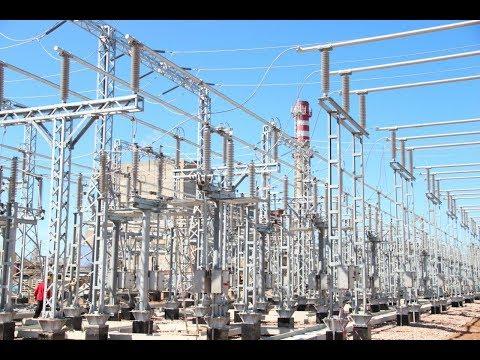 Ход строительства Сакской ТЭЦ