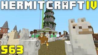 Hermitcraft IV 563 Llama Rama!