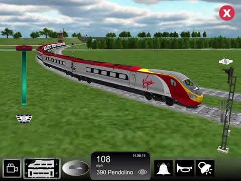 Train sim reviews: 360 Virgin pendolino