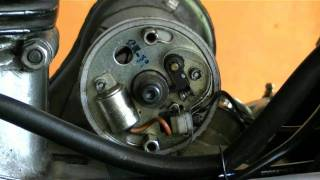 8. How To Tune Up A Royal Enfield Bullet Motorcycle - Ignition Timing And Point Gap
