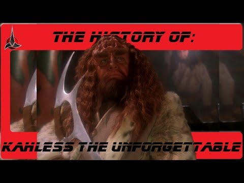 The History of: Kahless the Unforgettable S3-E36