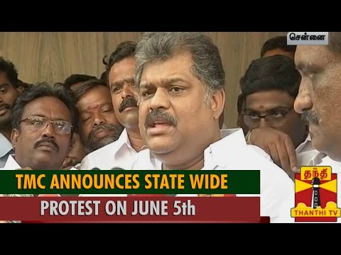 TMC Announces State Wide Protest on June 5th Demanding Complete Alcohol Prohibition