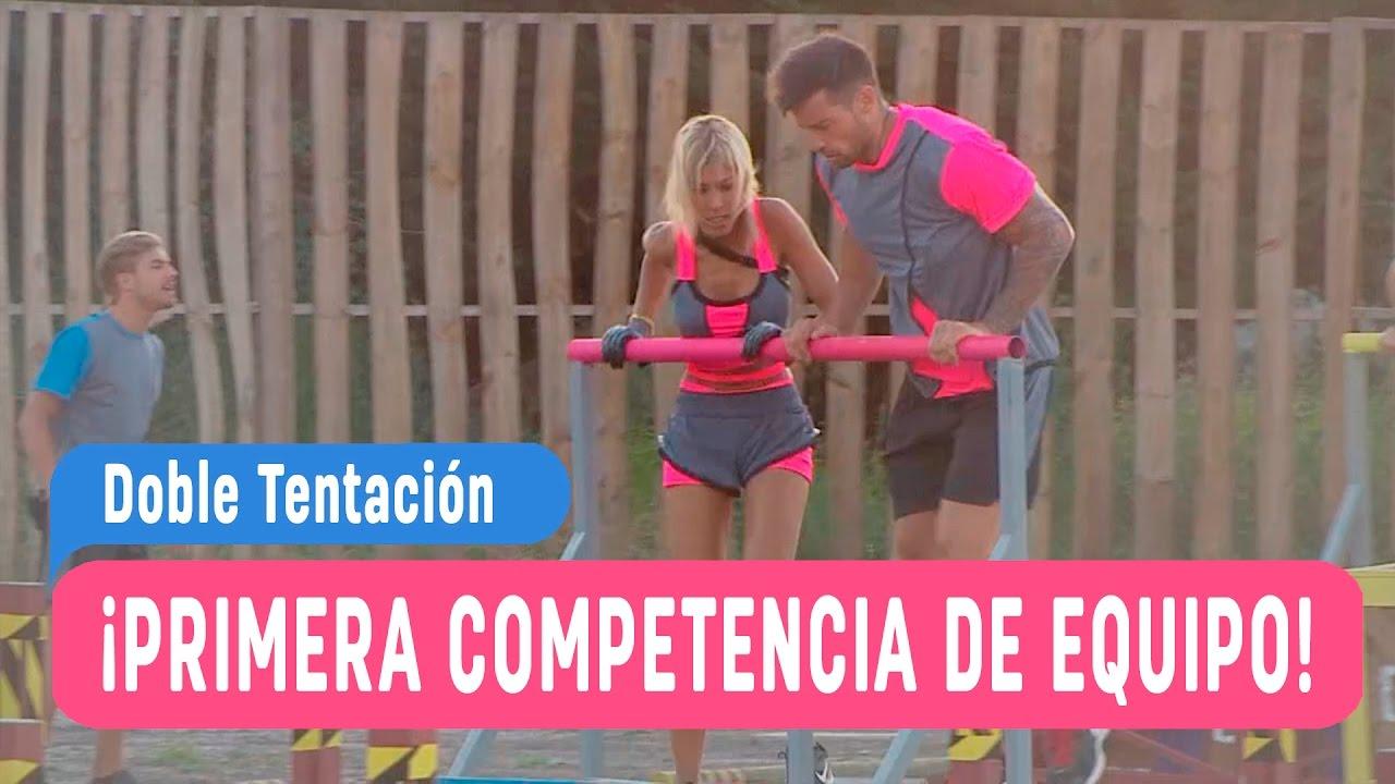 Ver Doble Tentación – ¡Primera competencia de equipos! – Capítulo 3 / Mega en Español Online