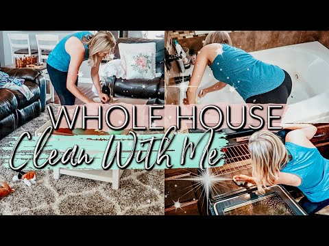 NEW ✨WHOLE HOUSE EXTREME CLEAN WITH ME 2019| EXTREME CLEANING MOTIVATION| CLEAN WITH ME ✨
