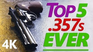 Here's the long overdue sequel to my Top 10 Hipster 9mms video featuring the five greatest 357 DA revolvers of all time. Comments from the last video taught me that I need a thorough and preemptive introduction, so the actual list starts at 1:20. Here are my picks:5. Colt Shooting Master4. S&W Registered Magnum3. Colt Python2. Korth Combat1. Manurhin MR73These selections are based on the following criteria alone: accuracy, fit and finish, build quality and materials, historical significance, and performance at the range. Note that price, availability, and practicality for concealed carry or tactical classes are *NOT* considered, nor are modified and customized revolvers. Additionally, revolvers are such a mature technology, and these are the best-made among them, that I ignored the topic of extreme reliability because it's just a given.If your favorite revolver is not on this list, it's because these are the only revolvers I have ever owned, shot or handled. I hope to someday have access to an elusive Ruger or Taurus or 586 to try out. KEY POINT TO UNDERSTAND: These picks are my opinions. Likewise, whatever you think should be on a G.O.A.T. revolvers list is YOUR opinion. Whatever is on Jerry Miculek's list is HIS opinion. And so on. Please exercise the modicum of self-awareness needed to understand that just because an opinion is yours, doesn't make it an objective fact of reality.You might notice I tried reading a script for the first time with this video, so apologies if I'm speaking a bit fast. I'm new to that technique and hope to refine it with upcoming videos. I'm trying to get motivated to get back in it and work through my overwhelming backlog of unique, exotic and rare handguns to review, so stay tuned!