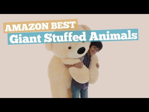 Giant Stuffed Animals // Amazon Best Sellers