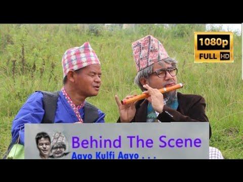 (Behind The Scene Making of Aayo Kulfi Aayo Song & video Kulfiwala & Takme Buda Wilson Bikram Rai - Duration: 11 minutes.)