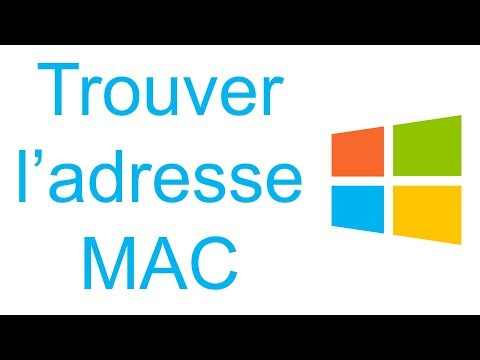 comment trouver adresse mac windows 7