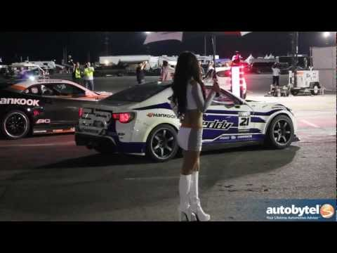 Ken Gushi Catches Fire @ Formula Drift Las Vegas 2012