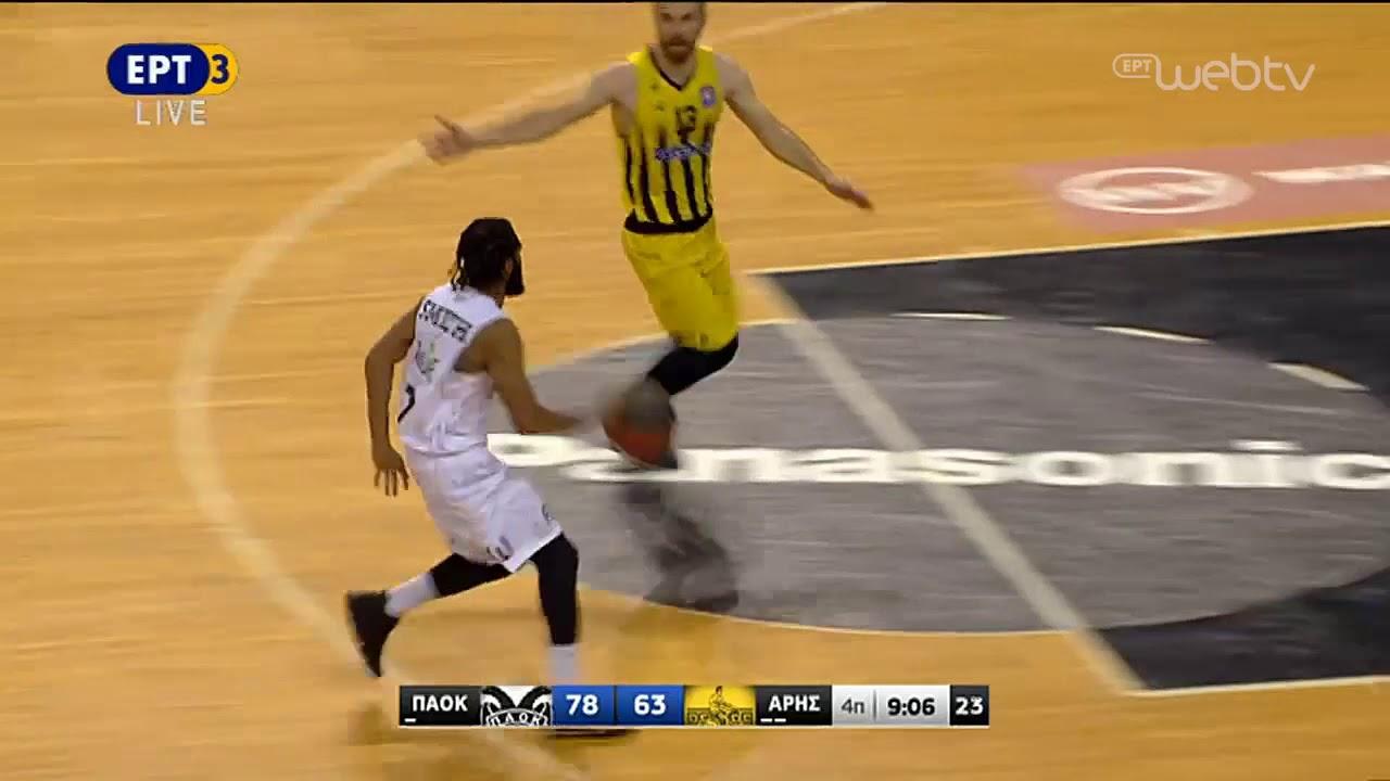 Basket League 2019-2020: ΠΑΟΚ-ΑΡΗΣ | HIGHLIGHTS | 05/01/2020 | ΕΡΤ