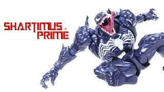 Revoltech Venom Amazing Yamaguchi Marvel Spider-Man Comic Import Action Figure Toy Review