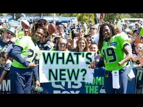 What's New for the 2018 Seahawks? - Walk Talk Hawks - Season 2 Episode 1
