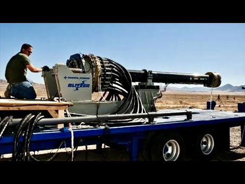 U.S. Military's Most Powerful Cannon - Electromagnetic Railgun