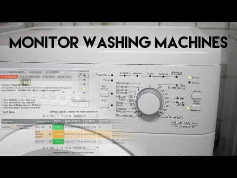 Monitoring washing machines with a Raspberry Pi + PIR sensor + Nagios / Icinga