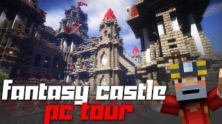 Minecraft: Fantasy Castle PC Tour + Download!