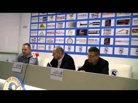 Konferencja prasowa nowego trenera Stilonu Gorzów  [07.04.2016]