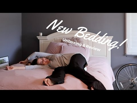 URBAN OUTFITTERS BEDDING | Unboxing And Review