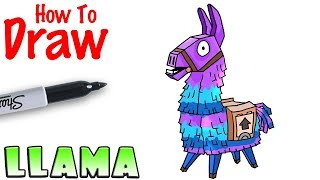 How to Draw the Llama | Fortnite