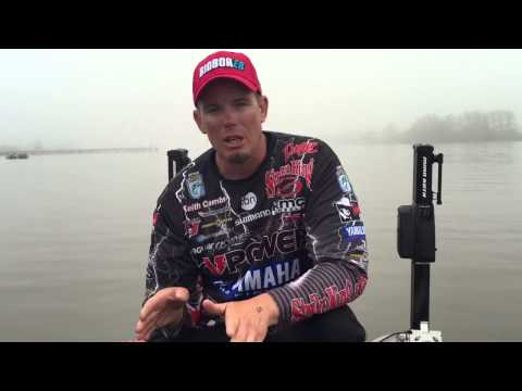 Keith Combs: Day 2 at the BASS Elite on the Sabine River (видео)