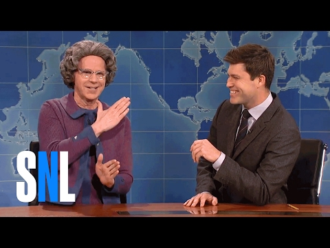 Weekend Update on Male Birth Control - SNL (видео)