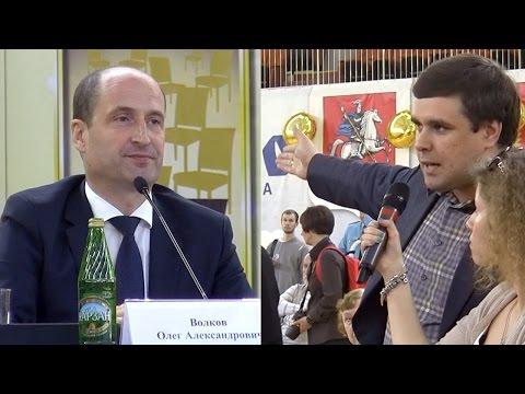 Неудобные вопросы депутата Янкаускаса префекту Волкову (видео)