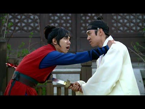 【TVPP】Lee Seung Gi - Stabbed by Yeon Seok, 이승기 - 절친이었던 연석(태서)의 칼에 찔리는 승기(강치) @ Gu Family Book