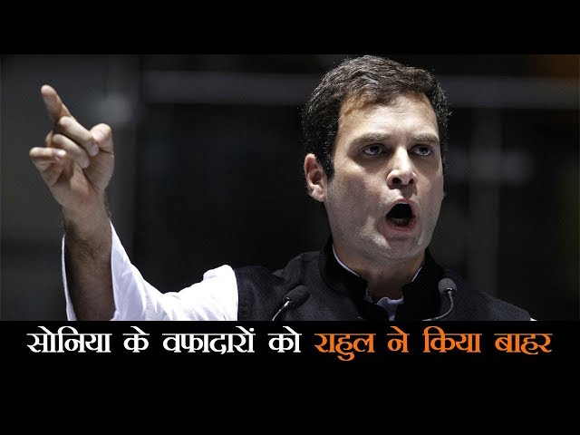 जानिये राहुल गांधी ने नयी CWC में किन नेताओं को किया शामिल और किन को किया बाहर