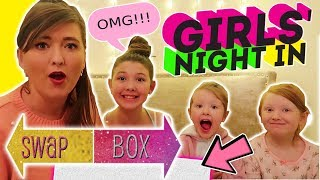 Video GIRLY NIGHT IN SURVIVAL PACK SWAP BOX COLLAB WITH - THE MELDRUMS! MP3, 3GP, MP4, WEBM, AVI, FLV Maret 2018