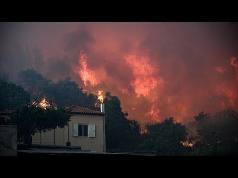 Φωτιά στην Εύβοια: Σε κατάσταση έκτακτης ανάγκης το νησί – Αναμένεται ευρωπαϊκή βοήθεια…