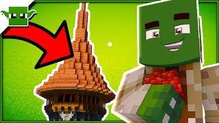 Minecraft Wizard Hat Tower Tutorial