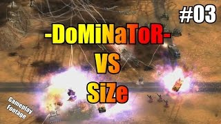 Ladder games Dominator vs Size on Revora server on a mixture of maps played in December. No commentary - just gameplay...