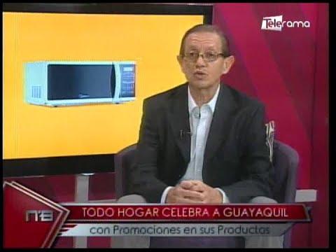 Todo hogar celebra a Guayaquil con promociones en sus productos