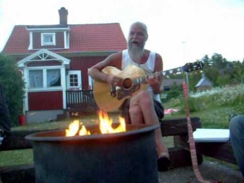 Pappa Pullan sjunger Ja ma han leva
