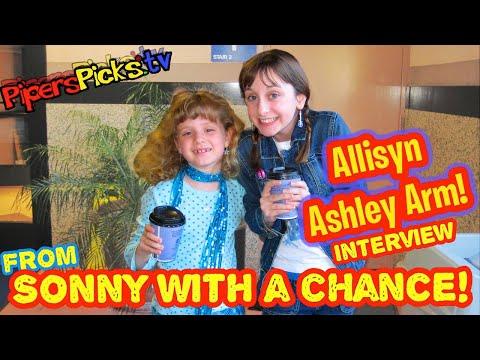 Allisyn Ashley Arm Interview So Random Kid Prodigy Reporter Piper Reese! (PipersPicksTV 035)