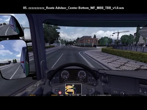 Route Advisor Mod Collection v1.0 [ETS2 v1.11.x ∼]
