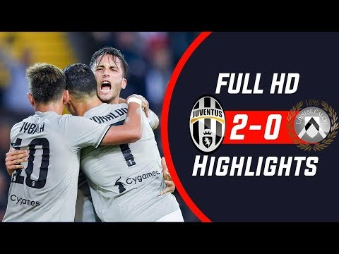 Udinese-Juventus 0-2 All Goals Highlights • 06/10/2018