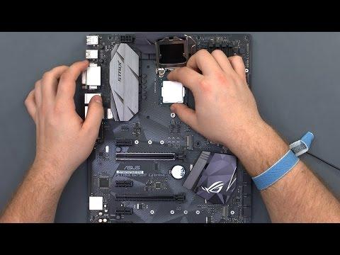 $1250 Gaming PC Build - ASUS STRIX B250F Gaming / Intel i5-7500