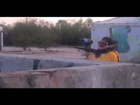 "paint ball ""Big Game 40°C"" - video Principal"