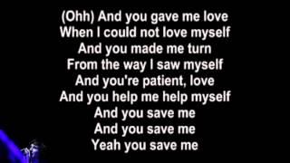 Gotye - Save Me (Lyrics Video)