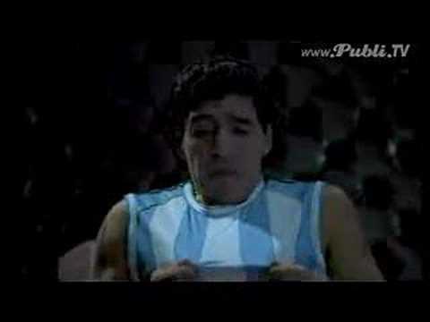 Maradona Commercial