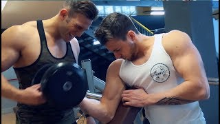 Arms training for WBFF Pro Diego Sechi and his friend, Italian fitness model Leonardo Lispi.GET IN TOUCH TO TRAIN WITH DIEGO: diegoseki@hotmail.itMyprotein is always fueling the best workouts and you can see Diego's favourite supplements here: http://bit.do/myprotein-diego-sechiSHARE AND SUBSCRIBE TODAY!!Constant uploads on Nutriton, Fitness and Health www.diegosechi.comFacebook: https://www.facebook.com/diegosechifi...Instagram: http://instagram.com/diegosechiTwitter: https://twitter.com/diegosechi