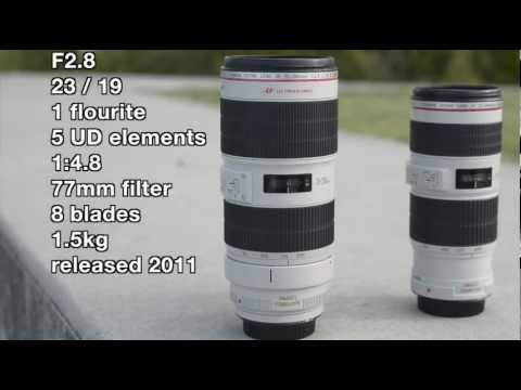 70 200mm - Canon 70-200mm IS lenses, f2.8 vs f4. The F4 is half the weight, price and half the light - but is it enough for you? Should you pay the extra for the big bo...
