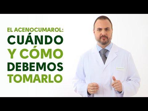 Acenocumarol, cuándo y cómo debemos tomarlo