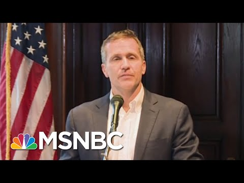 Embattled Missouri Governor Eric Greitens Resigns | MTP Daily | MSNBC