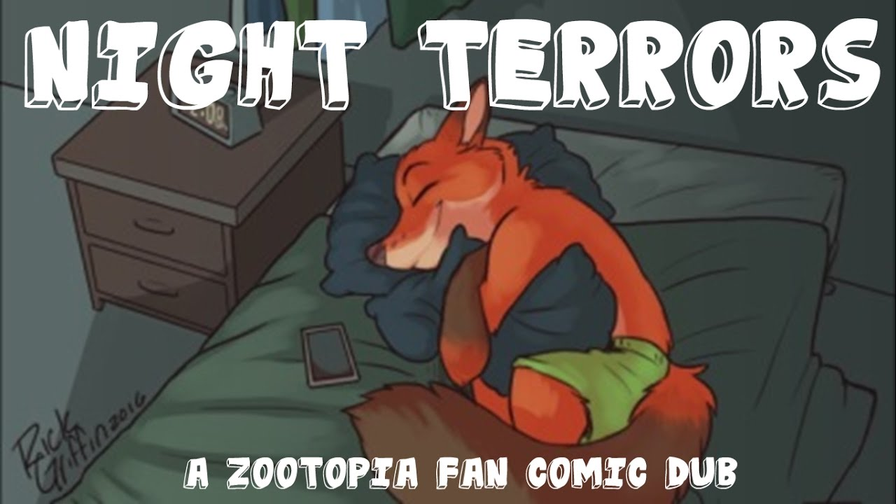 Comic Dub: Night Terrors (by Scribbler Productions) (Original by Rick Griffin)