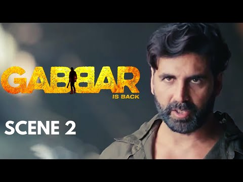 Gabbar Is Back | Scene 2 | Corrupt District Collector Kidnapped By Gabbar |  | Akshay Kumar